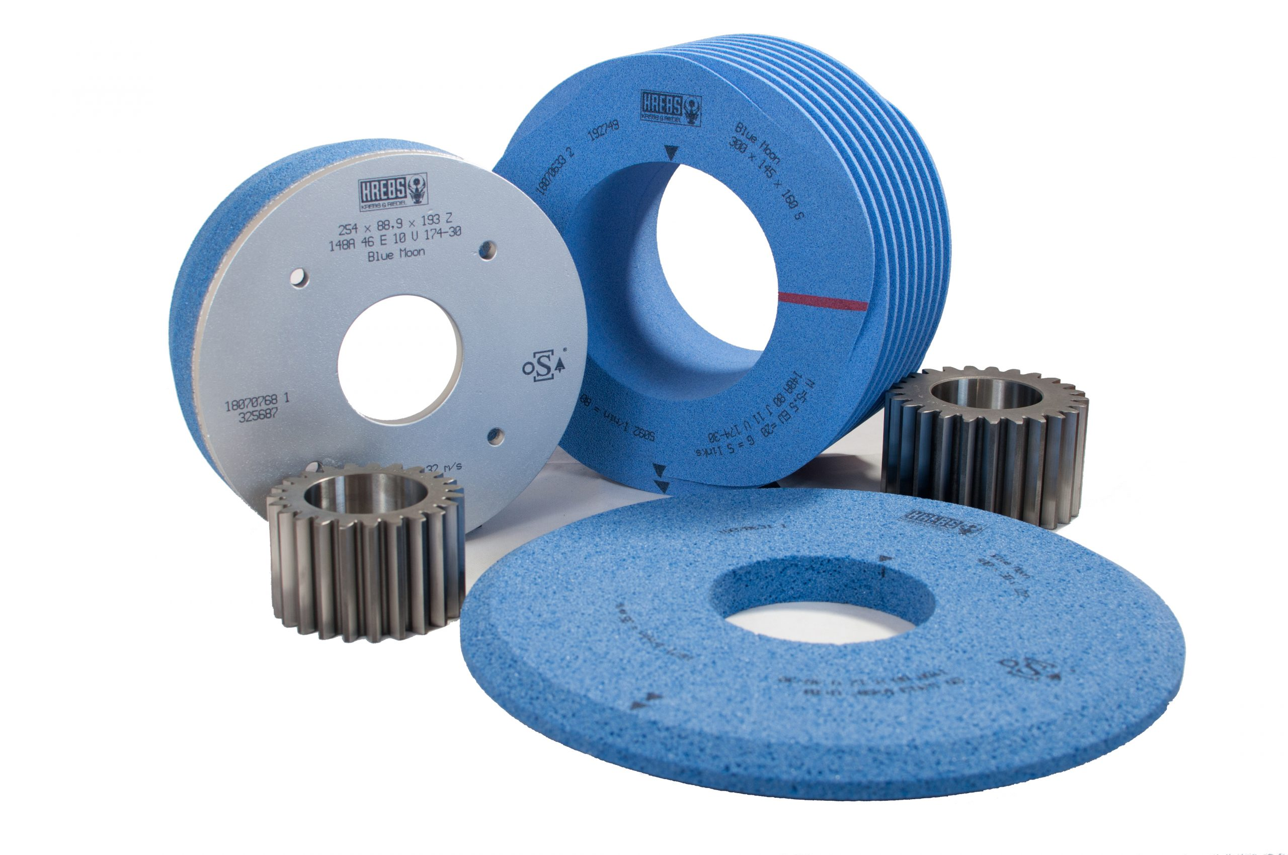 Blue Moon-TZ high-performance grinding wheels with precision-shaped trapezoid abrasive grain for maximum performance.